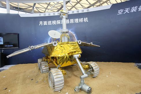 China's Jade Rabbit Moonshot