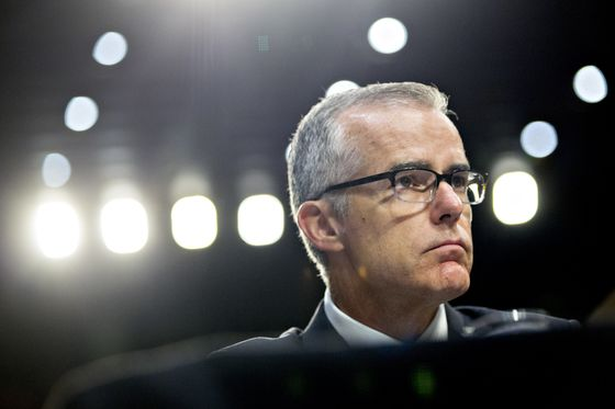 Ex-FBI Deputy McCabe Sues to Discover Policy Behind Firing