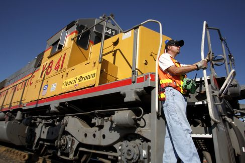 No Sign of Recession With Rail Shipments