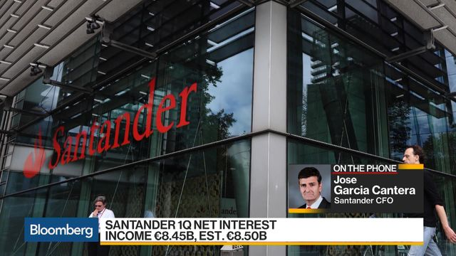 Santander first-quarter profit rises 10 percent, buoyed by Brazil