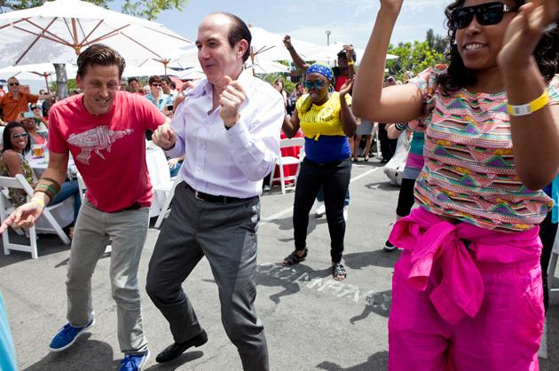 Viacom CEO Dances in a Flash Mob