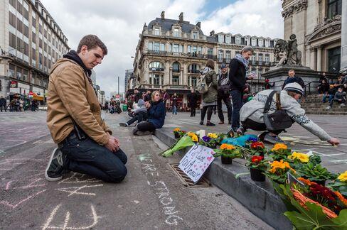 Memorial in Brussels.