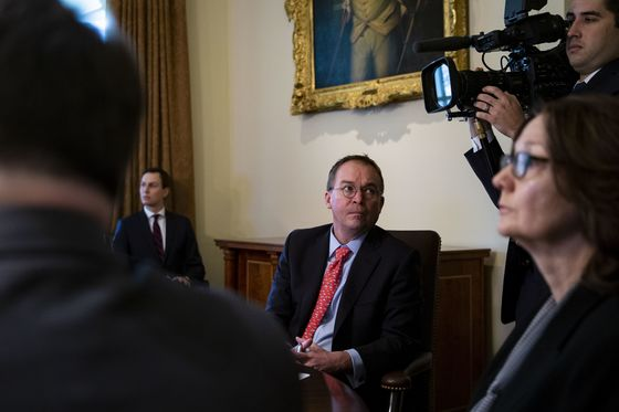 Mulvaney Says Trump Can Get His Wall With 'Executive Authority'