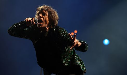 The Rolling Stones Singer Mick Jagger