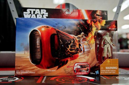 Rey's Speeder toy by Hasbro