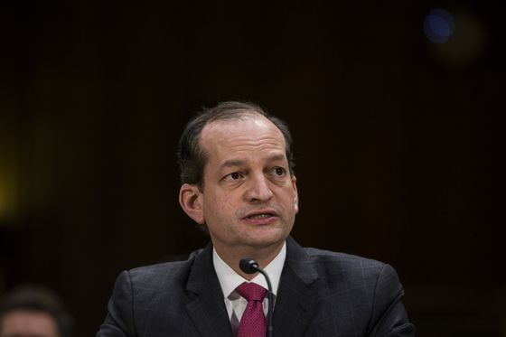 Acosta, Christie on Short List for Attorney General, Sources Say