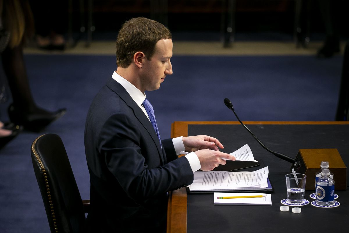 Facebook's China Argument Revealed in Zuckerberg's Hearing Notes