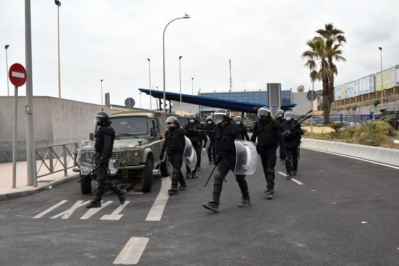 Spain Sends Troops to North Africa Enclave to Deter Migrants