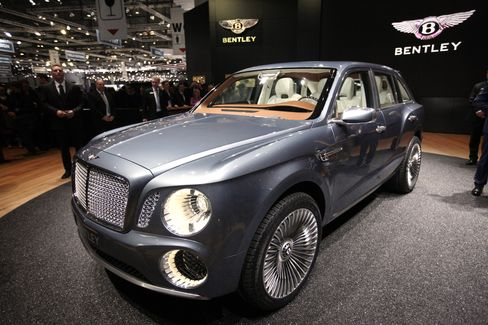 VW Said to Approve Making World's Priciest SUV for Bentley Brand