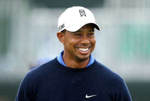 Woods Grouped With Garcia, Rose in Try for Fourth British Open