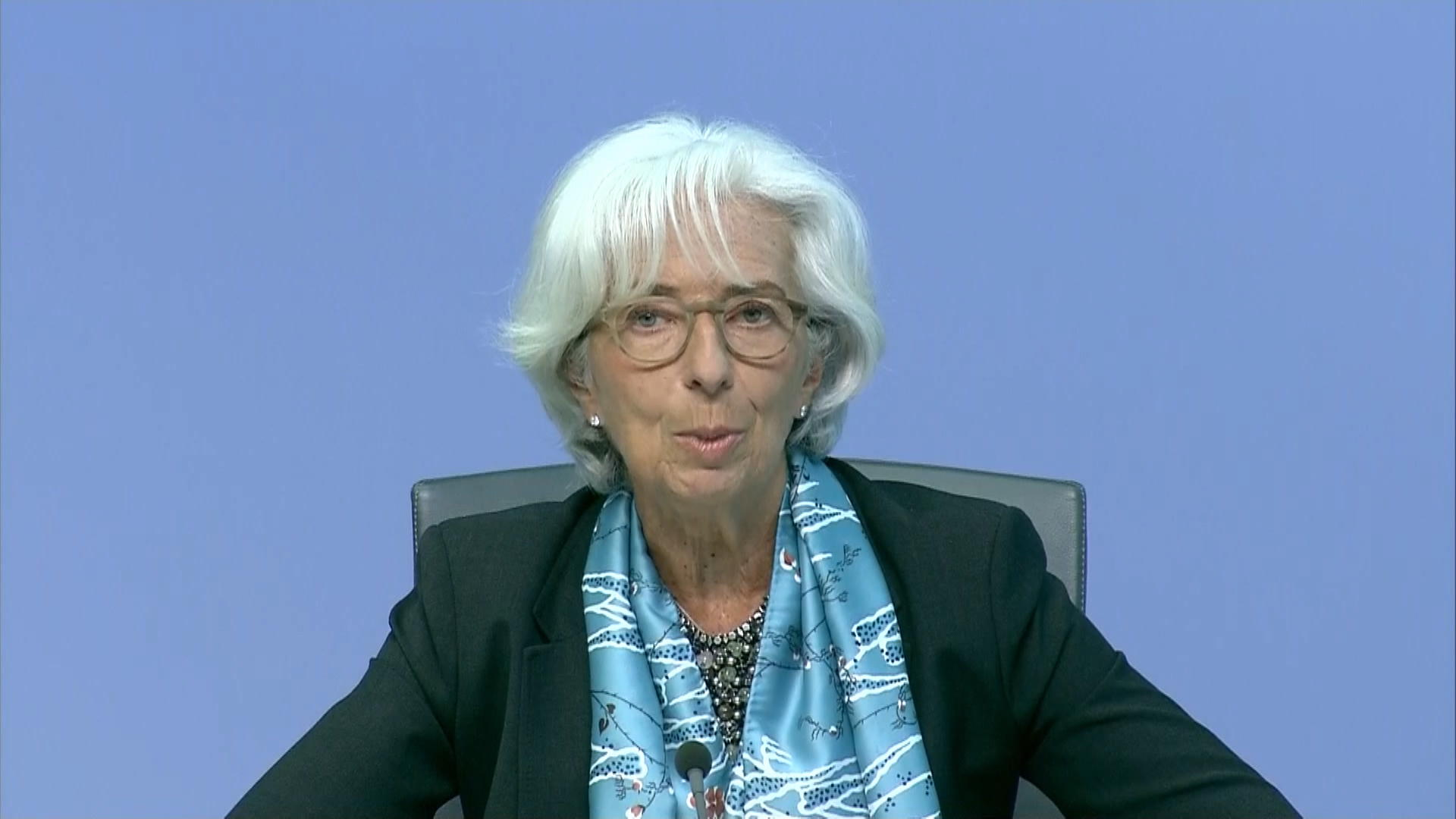 Lagarde Says Europe's Economic Recovery Has Been Tepid