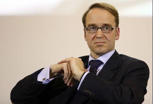 Bundesbank President Weidmann