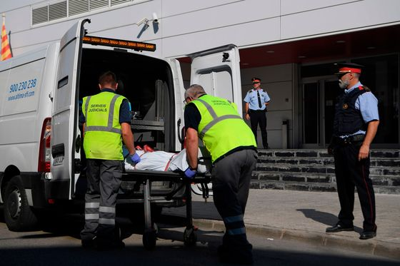 Terror Suspect Shot in Attack on Catalan Police Station