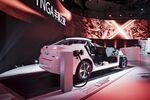 トヨタ自動車の燃料電池車「ミライ」