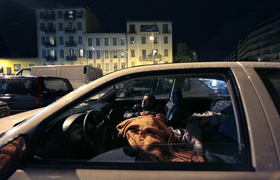 Parking Laws Christmas Day 2021 Los Angeles Safe Parking Programs Help Homeless Sleeping In Cars Bloomberg