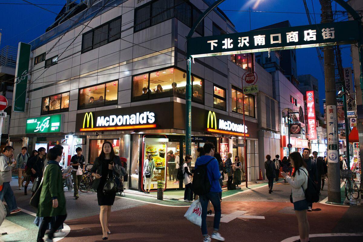 mcdonalds diversification