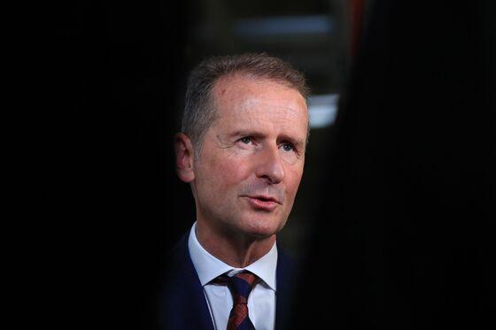Volkswagen Soars After Board Backs CEO, Defusing Conflict