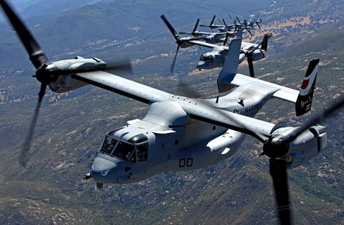 The V-22 Helicopter
