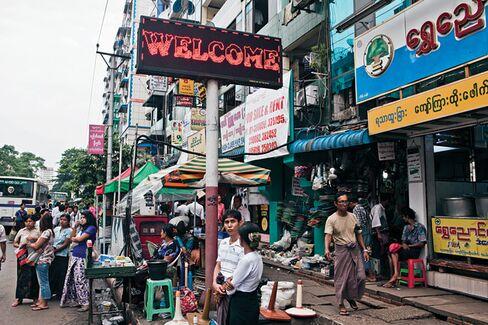 The Race for Rangoon