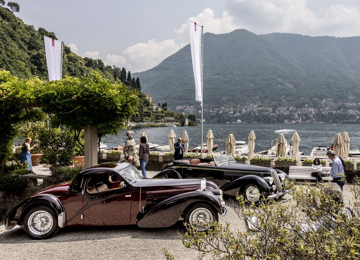 The World\'s Rarest Cars, on Display at Lake Como - Bloomberg