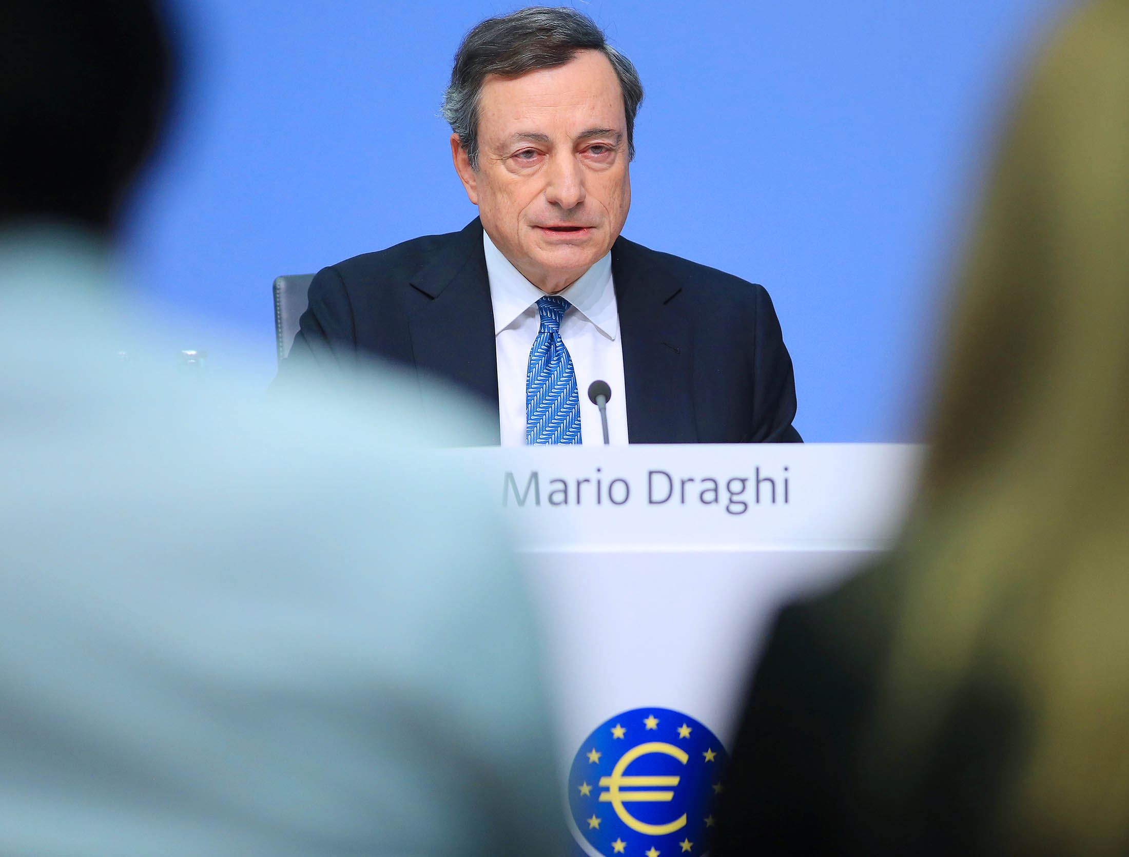 Draghi Said to Warn EU Leaders Elections Mustn't Derail Reform