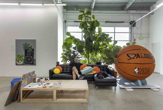 Basketball, Poker Propel Painter to Pinnacle of the Art World