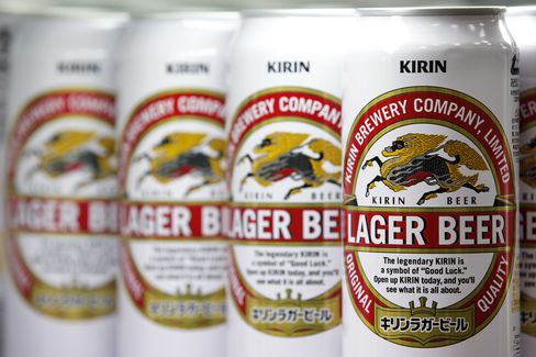 Kirin Follows Heineken With $2.2 Billion Offer; Shares Tumble