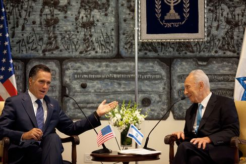 Romney Opens Private Fundraiser in Israel to Media