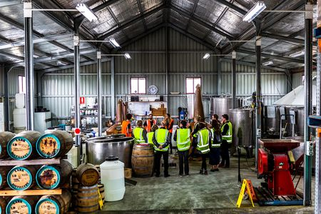 Lark Distillery in Mount Pleasant, part of Drink Tasmania whisky tours.