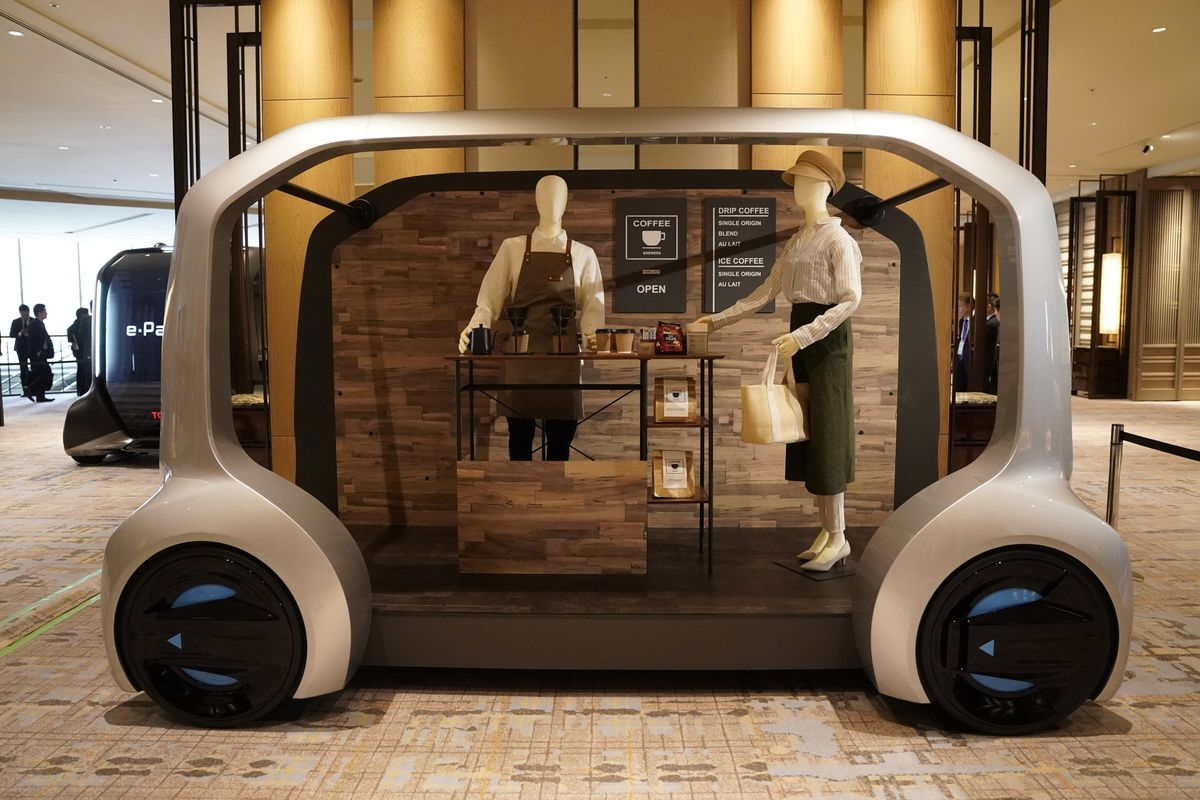How Toyota Will Use Robots at the Tokyo Olympics