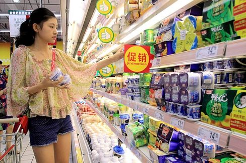 China's Growing Hunger for Yogurt Hits Global Supplies