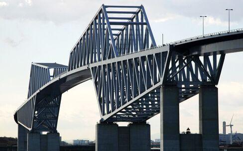 Dinosaur Bridge Leads Tokyo Push to Ease Traffic