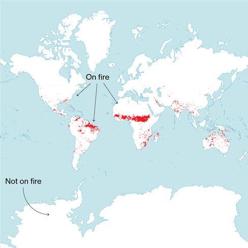 Source: NASA FIRMS Web Fire Mapper