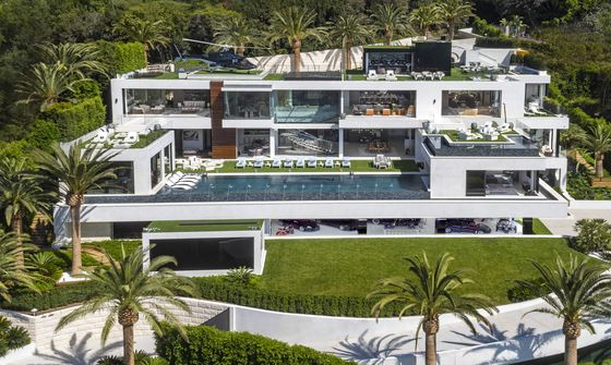 This Year's Top 10 U.S. Home Sales Totaled$1.1 Billion