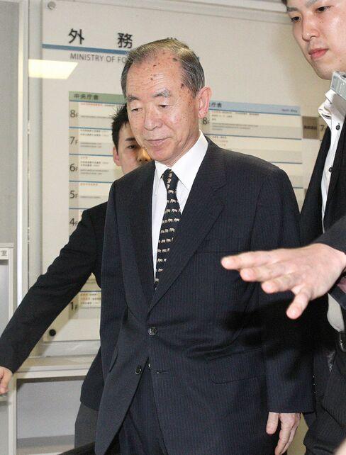 Japanese Ambassador to China Uichiro Niwa