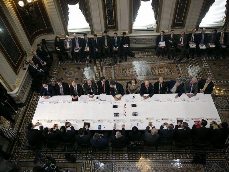 U.S. And China Negotiators Hold Trade Talks