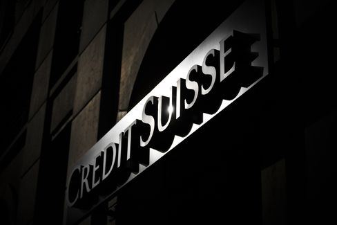 Credit Suisse Co-Head of Credit Products Desantis to Leave Bank