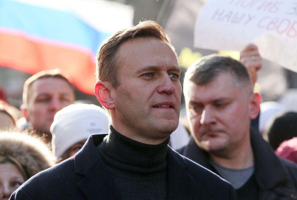 Alexey Navalny in Feb.
