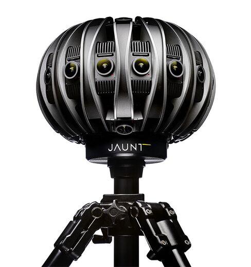 Jaunt's stereoscopic VR camera.