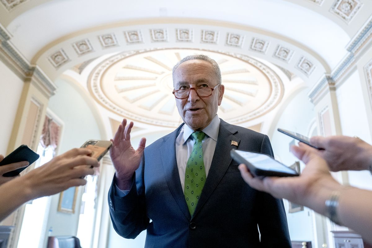 Schumer Says Senate to Vote Wednesday to Advance Voting Rights thumbnail