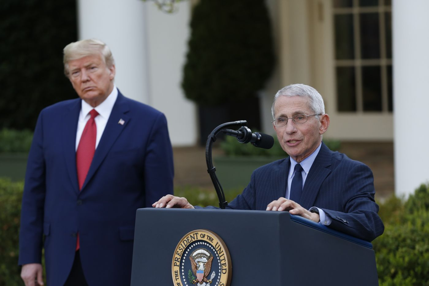 BLOOMBERG – Trump Abandons Easter Virus Goal and Steels Americans for Deaths