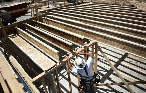 Homebuilder Confidence in U.S. Increases to Five-Year High
