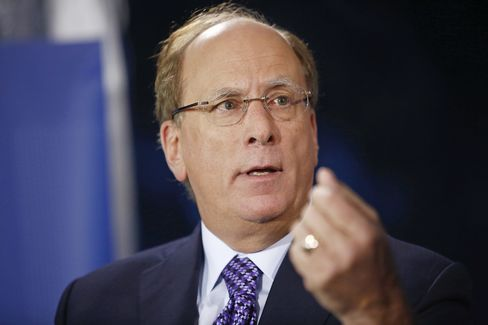 Larry Fink, chief executive of BlackRock.