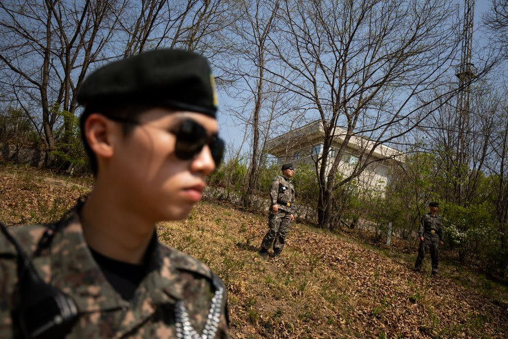 North Korea's Projectile Launch Breaches Military Deal: South
