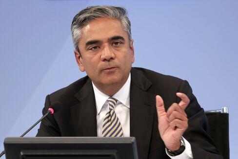 Deutsche Bank AG Co-Chairman Anshu Jain