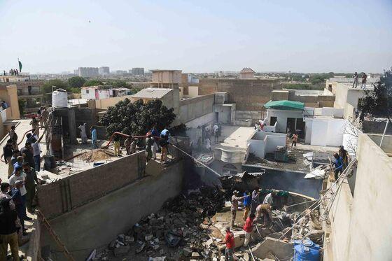 Toll From Pakistani Airbus Crash in Karachi Rises to 80