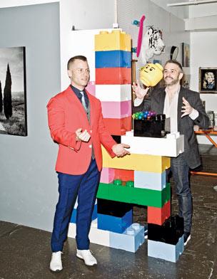 Bradford Shellhammer (left) and Jason Goldberg