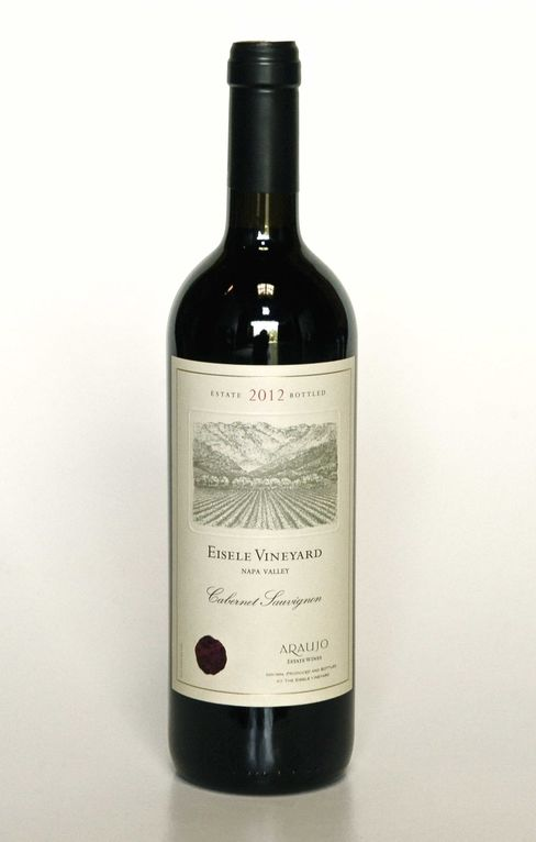 Priced like a first growth wine, the powerful, cassis-scented 2012 Araujo Eisele Vineyard ($500).