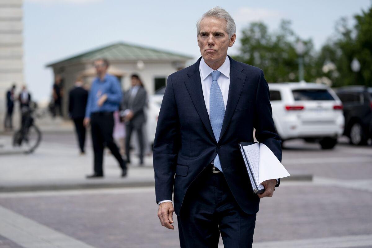 Infrastructure Bill to Drop Tax Enforcement, GOP Senator Says