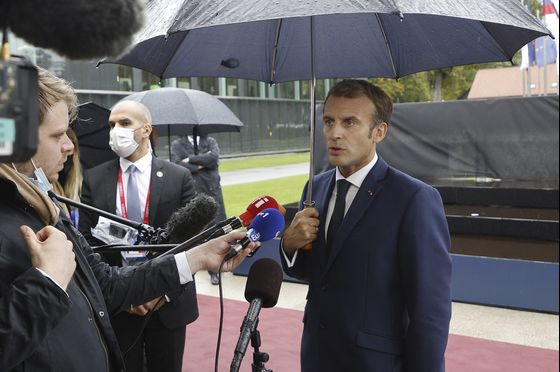 Macron's Private Pitch on Defense Fails to Bring Europe Together